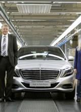 2014 Mercedes-Benz S-Class enters production
