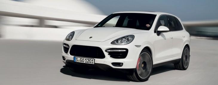 New Porsche Cayenne Turbo S 2014