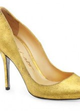 Shoes with Midas touch – World's First Wearable 24 Karat Gold Shoes