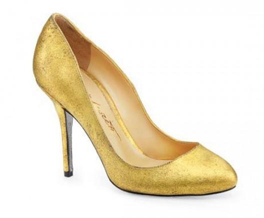 24-karat gold shoes