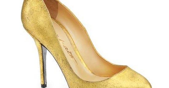 24-karat gold shoes