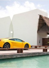 Enjoy in Grand Velas Riviera Maya and Drive a Lamborghini