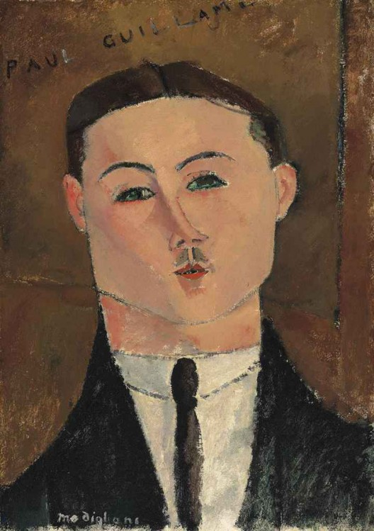 Amedeo Modigliani's Paul Guillaume