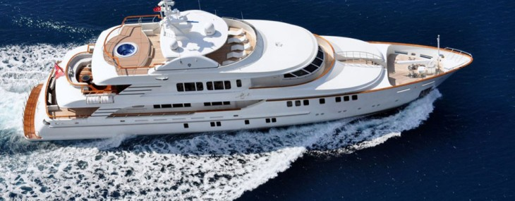 Mystic Superyacht with Branded Enterior on Sale for $18.6 Million
