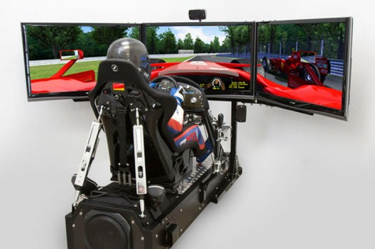 CXC Motion Pro II Simulator delivers the ultimate racing experience