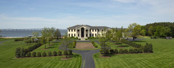 Elegant Gated Manor200 Bridgeview Lane, Stevensville, Maryland, United States,