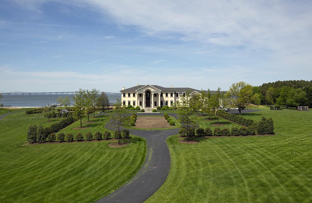 Elegant gated manor at maryland extravaganzi for Honey island shooting range