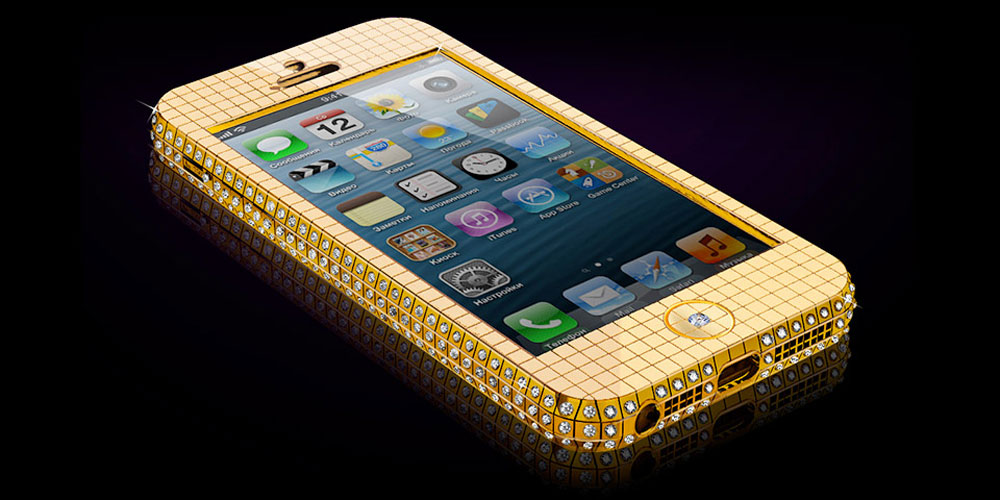 Goldgenie company now offers to you two iPhone 5 embellishment ...