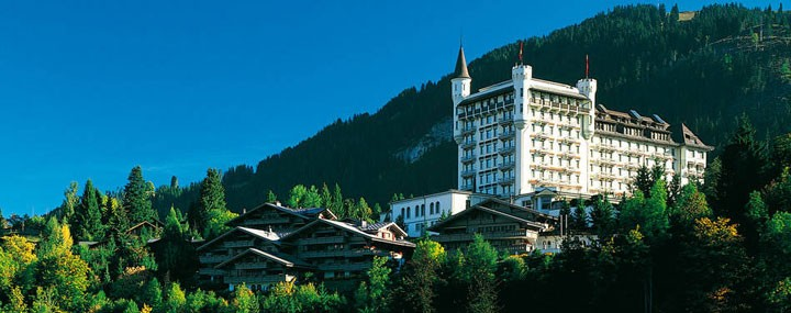Gstaad Palace Hotel - 5 Star luxury Mountain Spa Ski Resort in Gstaad Alps, Palacestrasse, Switzerland