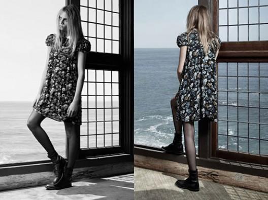 Hedi Slimane's Saint Laurent Babydoll Dresses