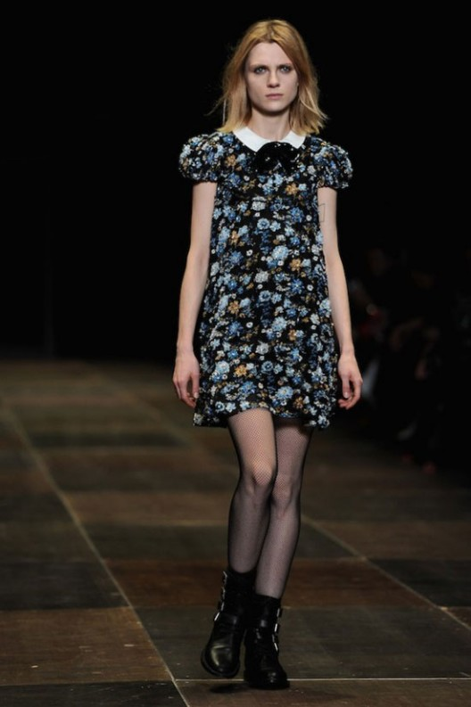 One Of Hedi's Saint Laurent Babydoll Dresses Costs $68,000