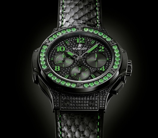 Hublot Big Bang Fluo watches glow with neon colors