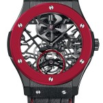 Hublot Red'n'Black Skeleton Tourbillon for Only Watch 2013