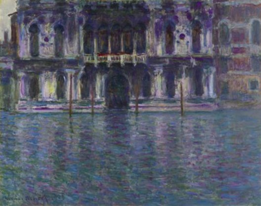 Claude Monet, Le Palais Contarini from 1908