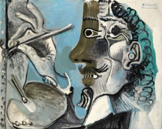Pablo Picasso's Le Peintre from 1967