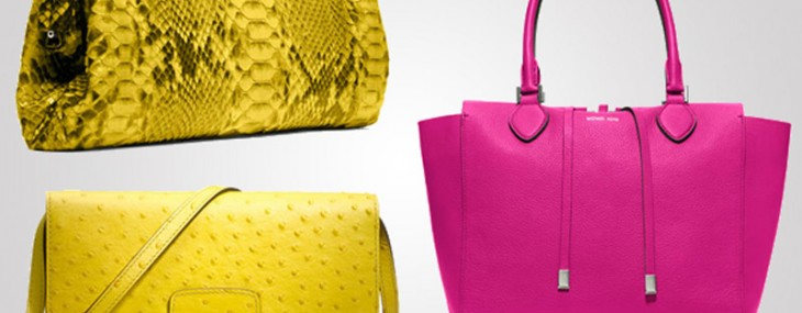 Michael Kors Neon Brights bags collection is the flavor of the season