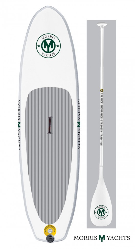 Morris Yachts' inflatable Standup Paddleboard iSUP
