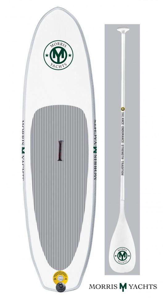 Morris Yachts' inflatable Standup Paddleboard iSUP