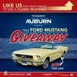 Win Ford Mustang On Auctions America