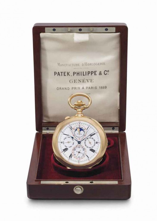 Patek Philippe Pink Gold Pocket Watch