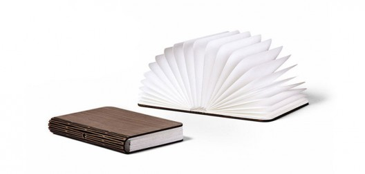 Lumio is a modern lamp that unfolds from a book