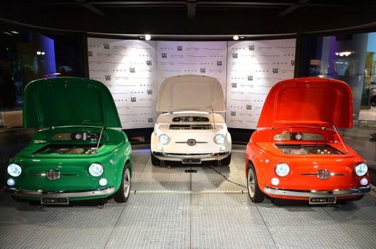 SMEG Fiat 500 Refrigerator