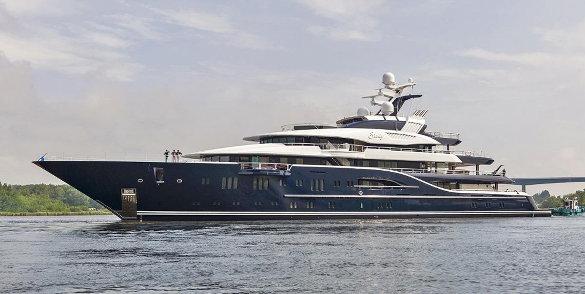 Solandge Lurssen S New 85 1 Metre Charter Yacht Extravaganzi