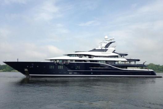 Solandge - Lürssen's New 85.1-metre Charter Yacht