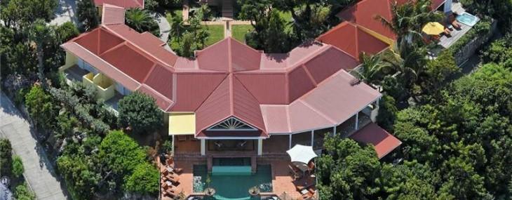 Steve Martin's St. Barts Villa Au Soleil