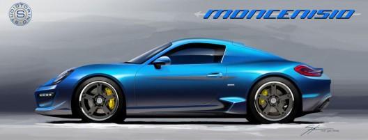 StudioTorino Moncenisio Porsche Cayman S