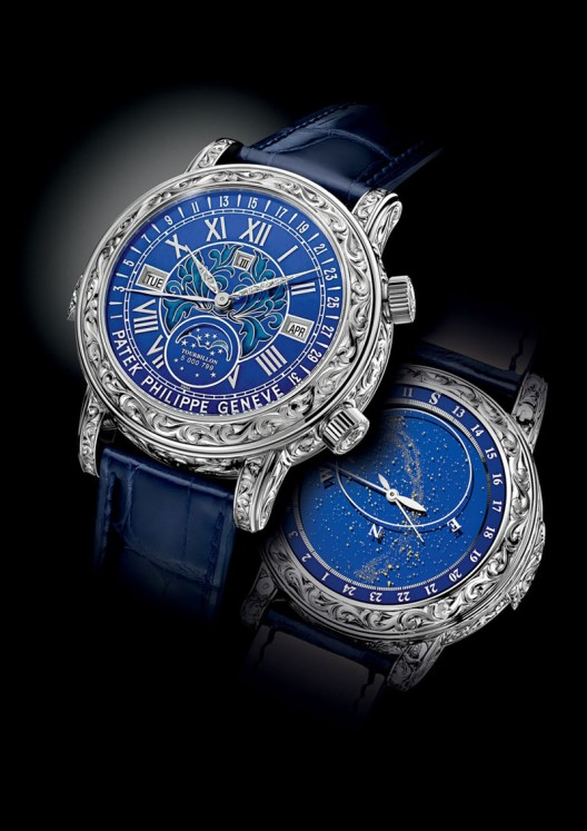 The Patek Philippe Sky Moon Tourbillon 6002G