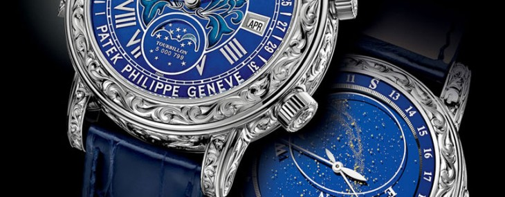 New Patek Philippe Sky Moon Tourbillon 6002G