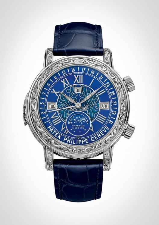 Patek Philippe Sky Moon Tourbillon Ref 6002G is the brand's most complicated wristwatch