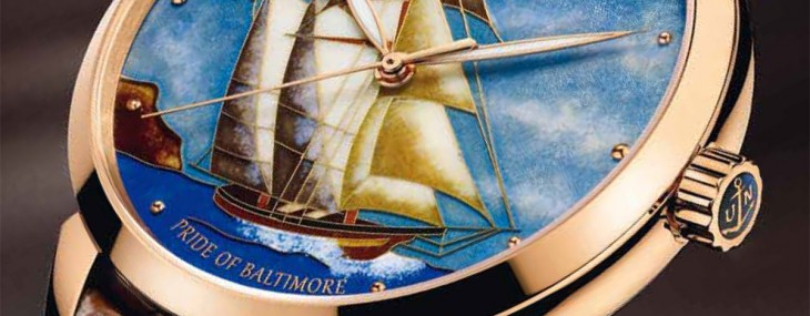 Ulysse Nardin Pride Of Baltimore Classico Cloisonné Watch