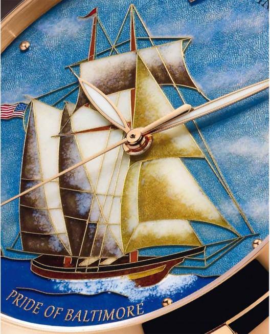 Ulysse Nardin Pride of Baltimore Classico Cloisonné