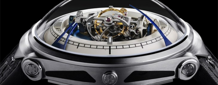 Vianney Halter's Deep Space Tourbillon is Star Trek inspired