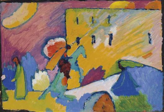 Wassily Kandinsky's Studie zu Improvisation 3