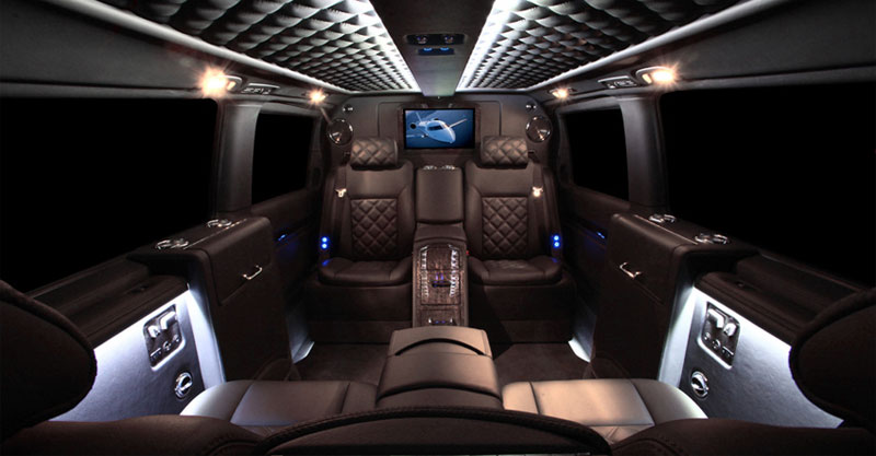 mercedes viano by carisma auto design extravaganzi. Black Bedroom Furniture Sets. Home Design Ideas