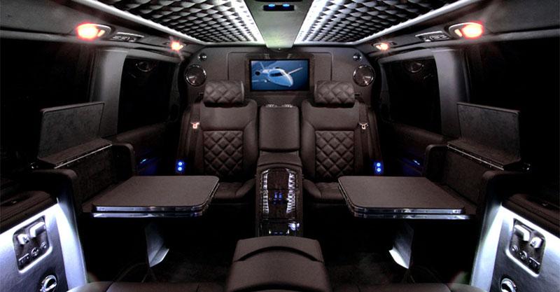 Mercedes viano by carisma auto design extravaganzi for Interior mercedes viano