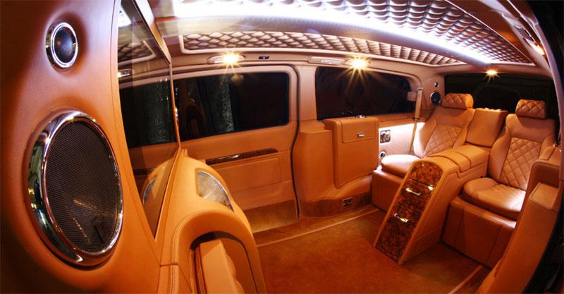 mercedes viano by carisma auto design extravaganzi. Black Bedroom Furniture Sets. Home Design Ideas