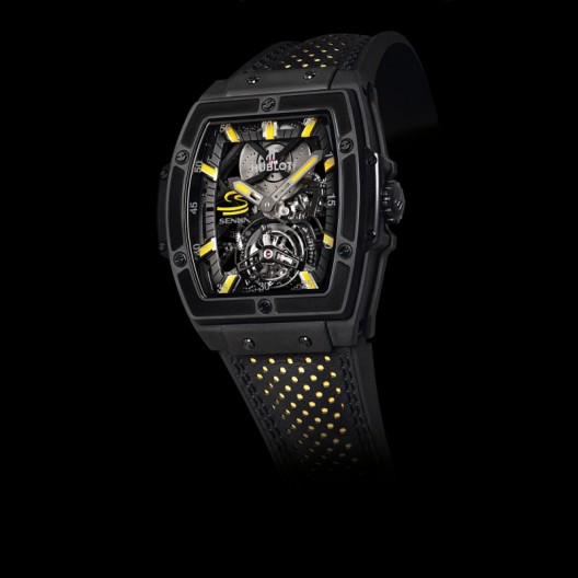 The MP-06 Senna is the fourth such collaboration between Hublot and the Senna family