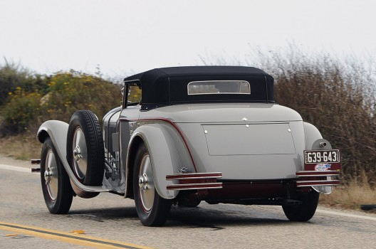 1928 Mercedes-Benz 680S Torpedo Roadster at rm auction
