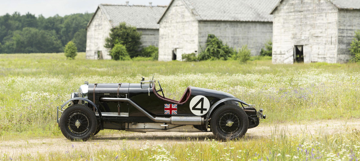 "After more than half a century, the ""Blower"" Bentley Le Mans of Charles R.J. Noble comes to market"
