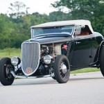"1933 Ford Hot Rod Highboy Roadster – ""Mexican Blackbird"" At Auctions America"