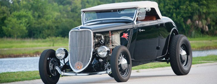 "1933 Ford Hot Rod Highboy Roadster - ""Mexican Blackbird"" At Auctions America"