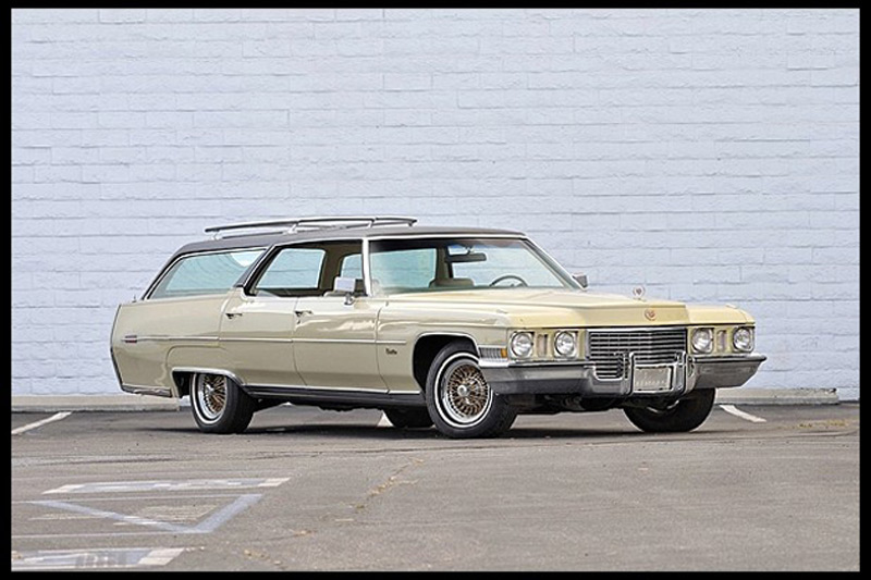 1972 Cadillac Estate Wagon will be offered this weekend at the Mecum Celebrity Auction