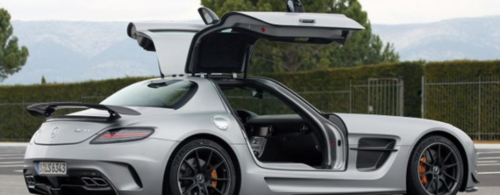 2014 Mercedes Benz SLS AMG GT Black Series coupe is listed at $275,000
