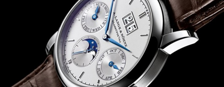 new model of A.Lange & Sohne Saxonia Annual Calendar Platinum, the German manufacturer