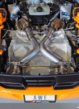 AWE Tuning First To Engineer 200 CPSI Catalyst Solution For McLaren MP4-12C, Uses HJS Technology