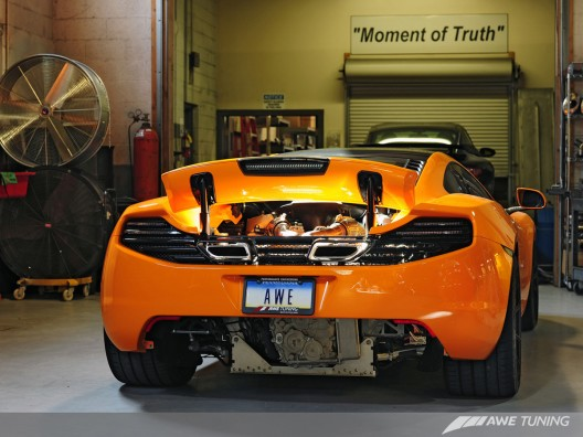 AWE Tuning First To Engineer 200 CPSI Catalyst Solution For McLaren MP4-12C, Uses HJS
